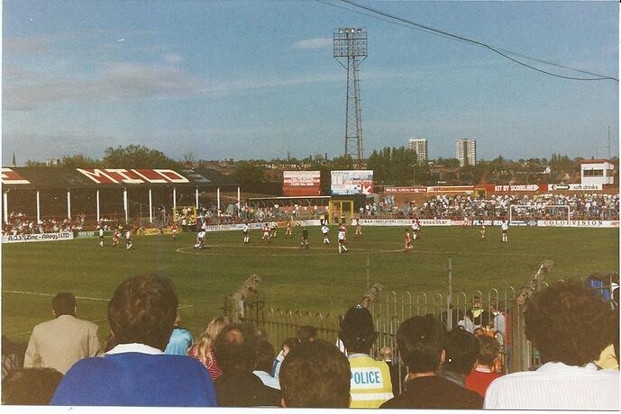 Walsall v Tranmere 4